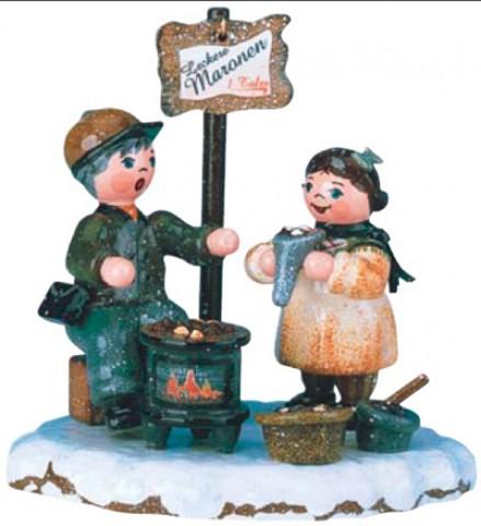 HeiBe Maronen Original HUBRIG Wooden Figuren - TEMPORARILY OUT OF STOCK
