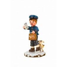 Postbote'Original HUBRIG Wooden Figuren