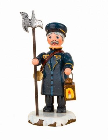 Nachtwachter'Original HUBRIG Wooden Figuren
