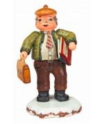 Herr Lehrer'Original HUBRIG Wooden Figuren