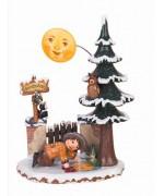 Mondputzer'Original HUBRIG Wooden Figuren