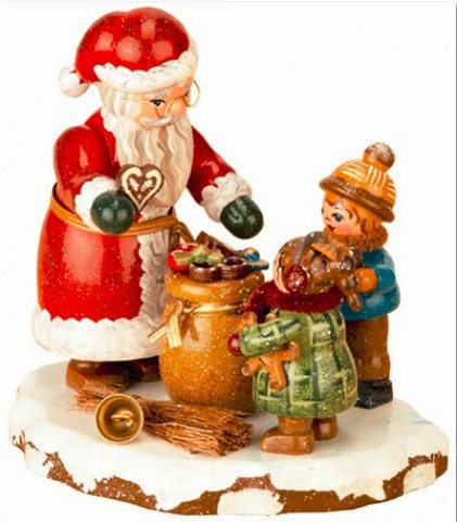 Danke, lieber Weihnachtsmann Original HUBRIG Wooden Figuren - TEMPORARILY OUT OF STOCK
