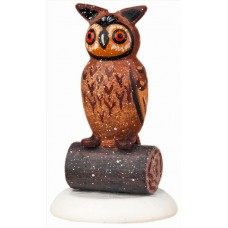 'Eule' (Owl) Original HUBRIG Wooden Figuren
