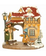 Jahreszeit - Winter'Original HUBRIG Wooden Figuren