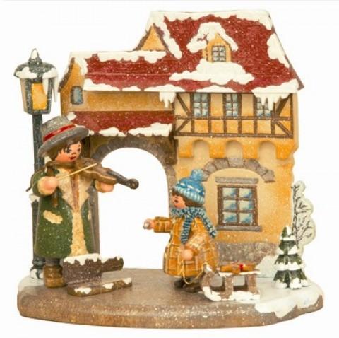 Jahreszeit - Winter'Original HUBRIG Wooden Figuren