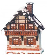 TEMPORARILY OUT OF STOCK - 'Balkon'Original HUBRIG Wooden Figuren