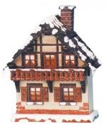 TEMPORARILY OUT OF STOCK - 'Balkon'Original HUBRIG Wooden Figuren