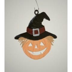 Jack-O-Lantern Hanging Ornament Wilhelm Schweizer