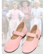 dirndl + bua Girl's Pink Shoe