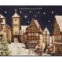 Rothenburg GERMANY Advent Calendar