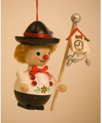 TEMPORARILY OUT OF STOCK - Swiss Peter Wooden Ornament Christian Steinbach