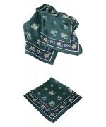 German Style Edelweiss Handkerchief