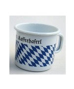 Bavarian Coffee Cup Enamelware