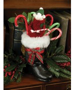 Mouse in Christmas Boot