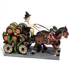 Oktoberfest Bierkutsche Bierwagen - Beer wagon - FD
