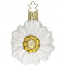 TEMPORARILY OUT OF STOCK - Inge-Glas Ornament Edelweiss Blume