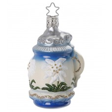 TEMPORARILY OUT OF STOCK  Inge-Glas Ornament Bavarian Beer Stein