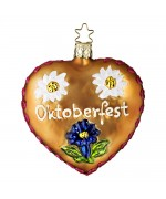 Inge-Glas Ornament We Love Oktoberfest - TEMPORARILY OUT OF STOCK