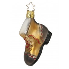 Inge-Glas Ornament Traveling Boot