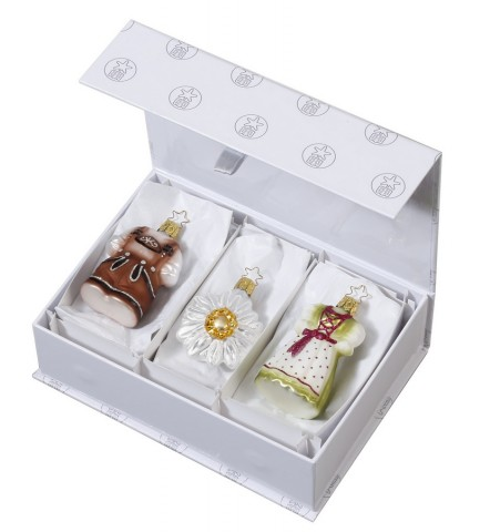Inge-Glas Ornament Bavarian Basics  - TEMPORARILY OUT OF STOCK