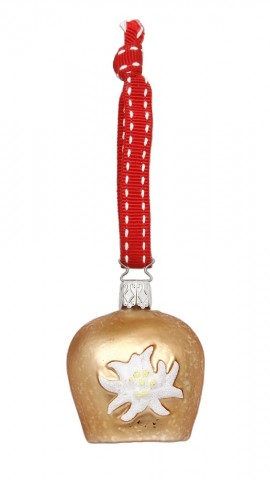 Inge-Glas Ornament Cow Bell