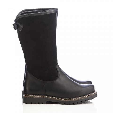 TEMPORARILY OUT OF STOCK - Dirndl + Bua Black Winter Boot