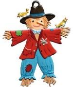 Vogelscheuche Scarecrow Hanging Ornament Wilhelm Schweizer
