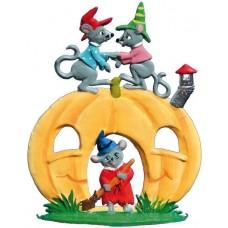 Mice on a Pumpkin House Wilhelm Schweizer