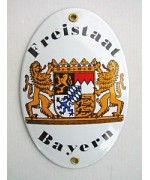 Friestaat Bayern Enamel Sign - TEMPORARILY OUT OF STOCK