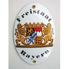 Friestaat Bayern Enamel Sign