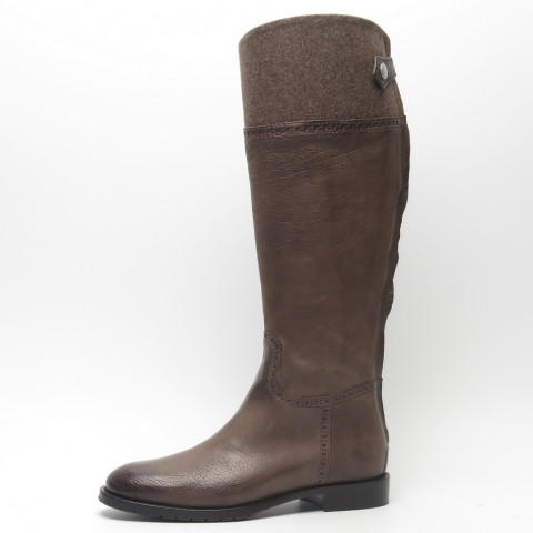 TEMPORARILY OUT OF STOCK - Dirndl + Bua Brown Riding Boot