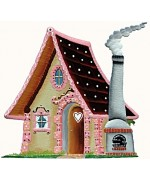 Wilhelm Schweizer Fairytale Pewter Hansel & Gretel Witch's House