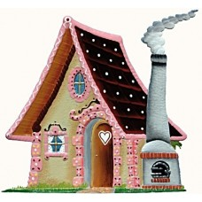 Wilhelm Schweizer Fairytale Pewter Hansel & Gretel Witch's House