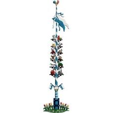 Bavarian May Pole Maibaum Standing Pewter Wilhelm Schweizer