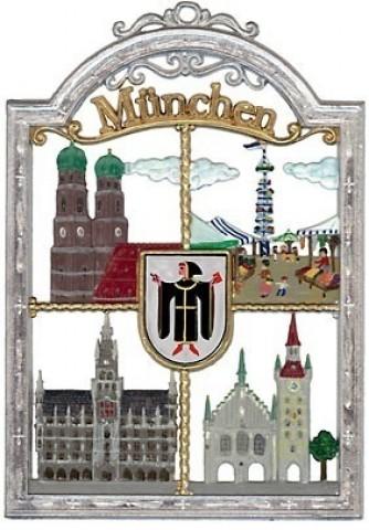 Munich Window Wall Hanging Wilhelm Schweizer