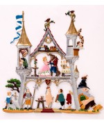 Fairy Tale Castle Window Wall Hanging Wilhelm Schweizer
