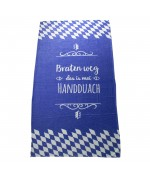 "Bavarian Towel ""Bratzn weg"" TEMPORALLY OUT OF STOCK"