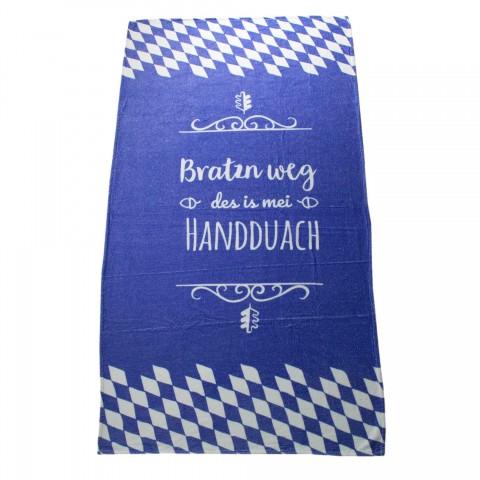 """Bavarian Towel """"Bratzn weg"""""""