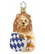Inge-Glas Ornament Bavarian Lion