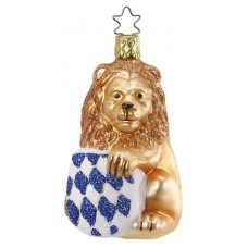 Inge-Glas Ornament Bavarian Lion - TEMPORARILY OUT OF STOCK