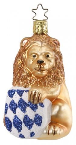 Inge-Glas Ornament Bavarian Lion