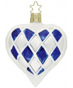 Inge-Glas Ornament Bavarian Heart