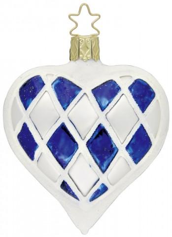 Inge-Glas Ornament Bavarian Heart