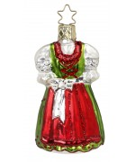 Inge-Glas Ornament Holiday Dirndl