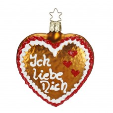 TEMPORARILY OUT OF STOCK - Inge-Glas Ornament I Love You
