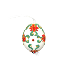 Christmas and Easter Egg - Red Ribbon Flower