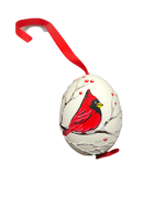 Christmas and Easter Egg - Red Cardinal