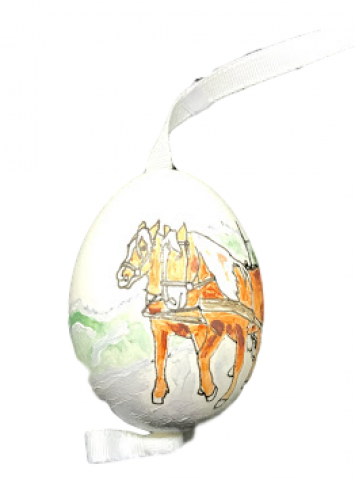 Christmas and Easter Egg - Working Horse Team