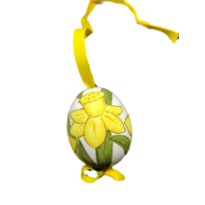 Christmas and Easter Egg - Yellow Flower