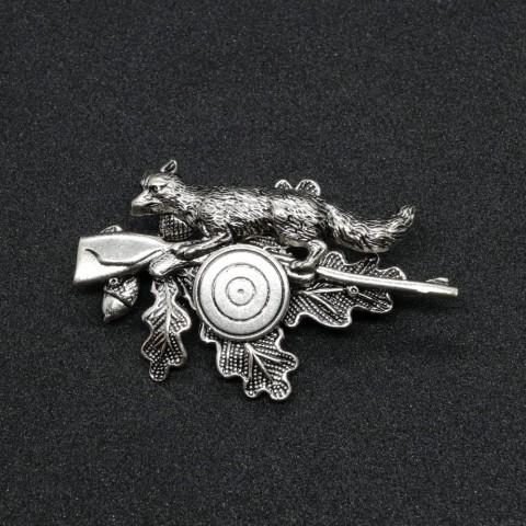 German Fox Hat Pin